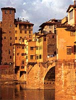 Classic Tuscany town scene